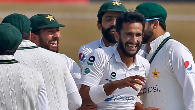 Hasan Ali finished with 10 wickets in the match as Pakistan won the second Test against South Africa in Rawalpindi
