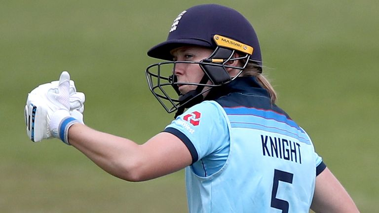 Knight's England side have not played an ODI since 2019