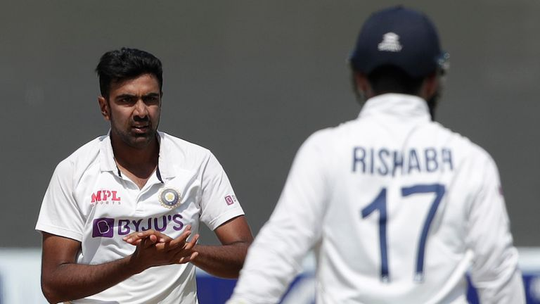 Ashwin was a key difference maker in the Test (Pic credit - BCCI)