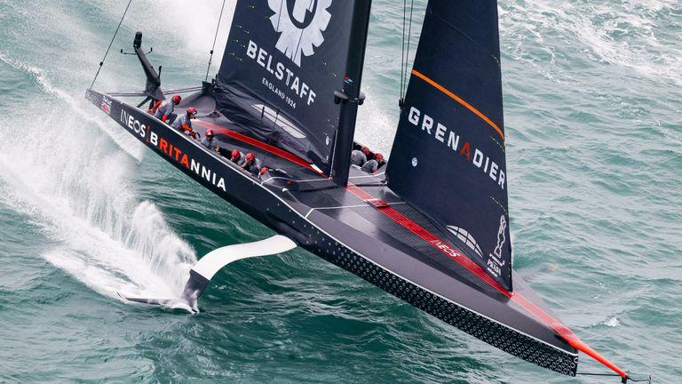 INEOS TEAM UK and Luna Rossa Prada Pirelli will return to the water on Saturday (Image - COR 36 | Studio Borlenghi)