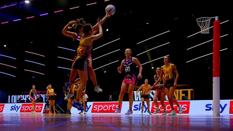 The Vitality Netball Superleague continues on Sunday with Round Three (Image Credit: Ben Lumley)