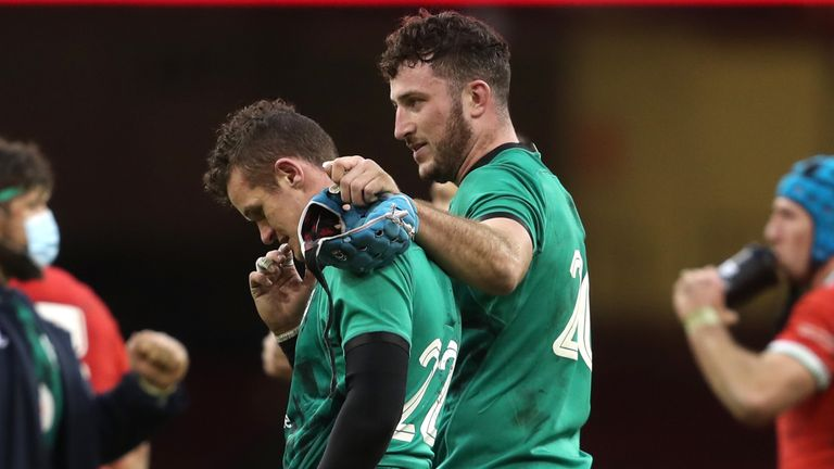 Billy Burns was entertained by Will Connors full time against Wales