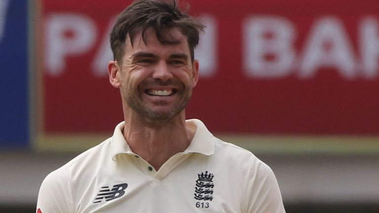 Anderson has taken 614 wickets in 160 Tests for England (Pic credit - BCCI)
