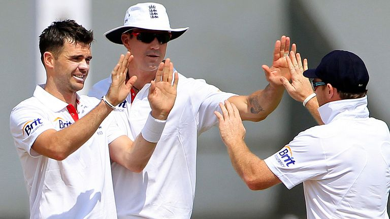 James Anderson chipped in with 12 wickets in the 2012 series