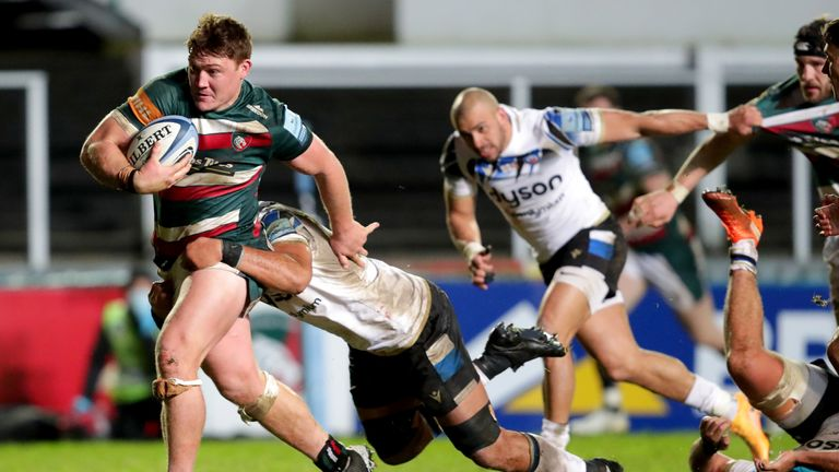 Jasper Weise (left), pictured in action against Bath last month, is among those to receive bans