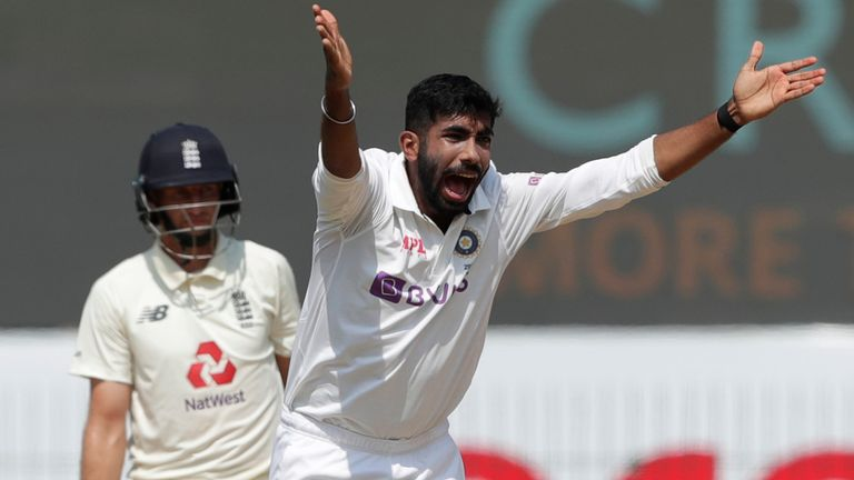 Jasprit Bumrah's first 17 Test matches came away from home (Pic credit - BCCI)