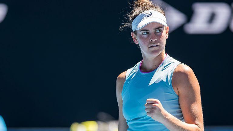 Jennifer Brady will meet Muchova in the semi-finals