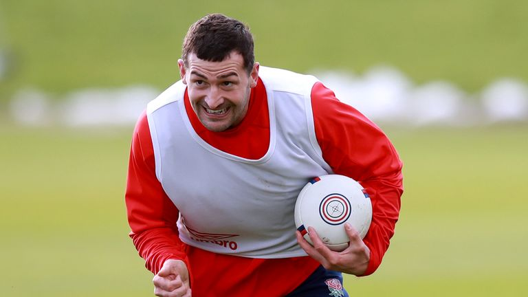 Jonny May is part of England's squad for their matches against Wales and France