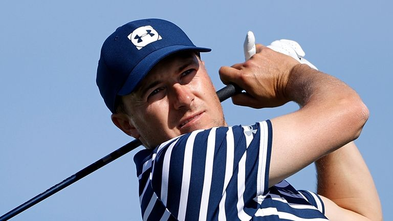 Jordan Spieth closed with a 72 to finish two off the pace