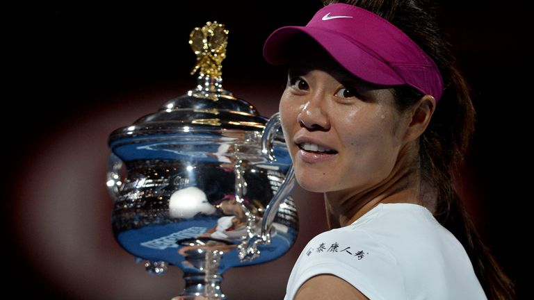 China's Li Na won her second Grand Slam title and her first in Melbourne in 2014