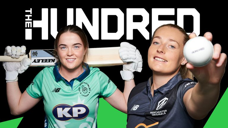 Oval Invincibles' Mady Villiers will go head to head with Sophie Ecclestone of the Manchester Originals in The Hundred