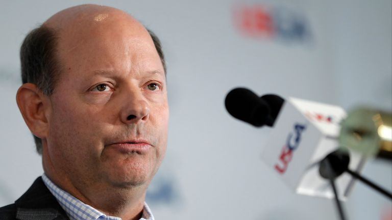 Mike Davis avoided controversy in his final US Open as USGA chief