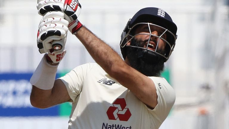 Moeen took eight wickets and scored a quick-fire 43 in the second Test, his first red-ball game for England since 2019 (Pic credit - BCCI)