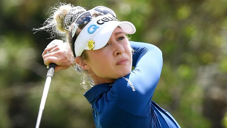 Korda is chasing her fourth LPGA Tour victory