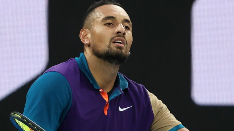 Kyrgios was at his vintage best inside a subdued John Cain Arena