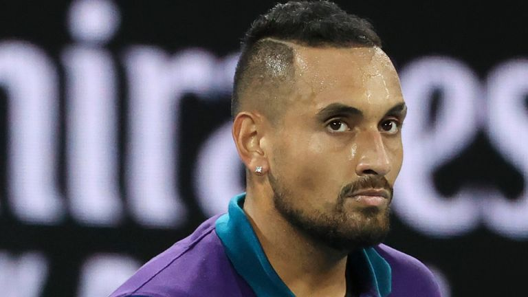 Nick Kyrgios has missed the clay court season to remain in Australia after the Australian Open