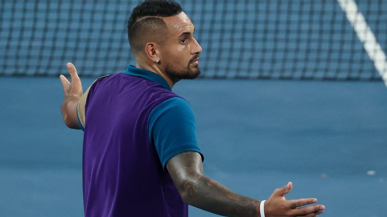 Nick Kyrgios will face Dominic Thiem in the Australian Open third round on Friday