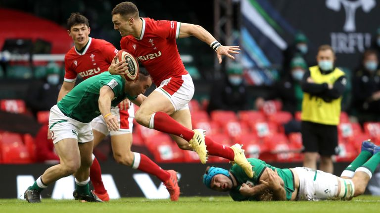 Wales beat Ireland in their Six Nations opener