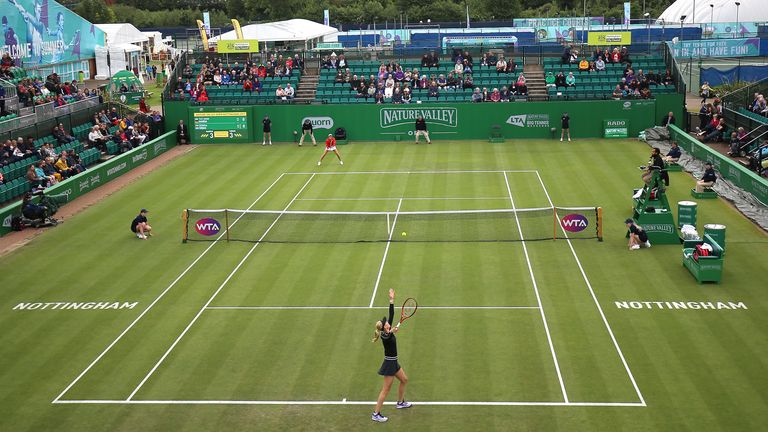 The pre-Wimbledon event at Nottingham is scheduled at the beginning of June