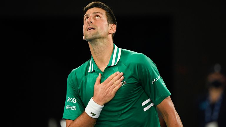 Reigning champion Djokovic overcame some dips in form to beat Zverev