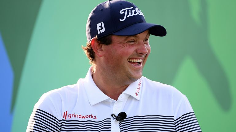 Patrick Reed makes his first appearance since winning the Farmers Insurance Open on Sunday