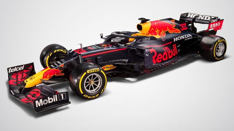 Red Bull released digital images of the RB16B for the first time earlier this week