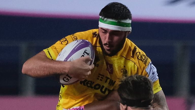 Riccardo Favretto is one of four uncapped player in Italy's squad