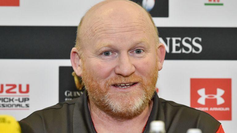 Lions kicking coach Neil Jenkins