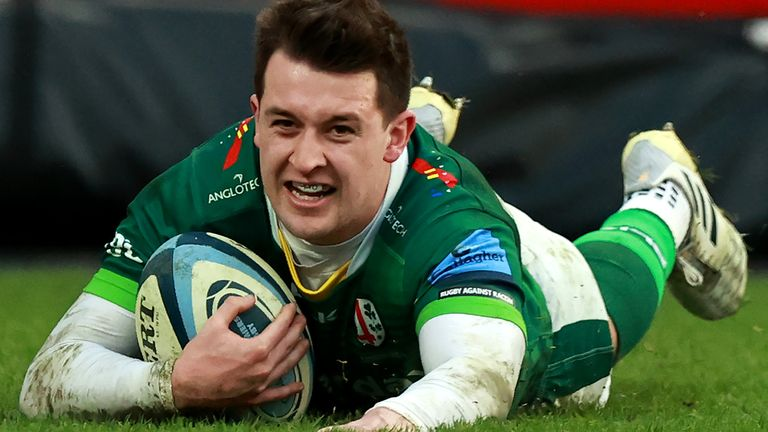 Tom Parton's late try helped London Irish snatch an unlikely draw