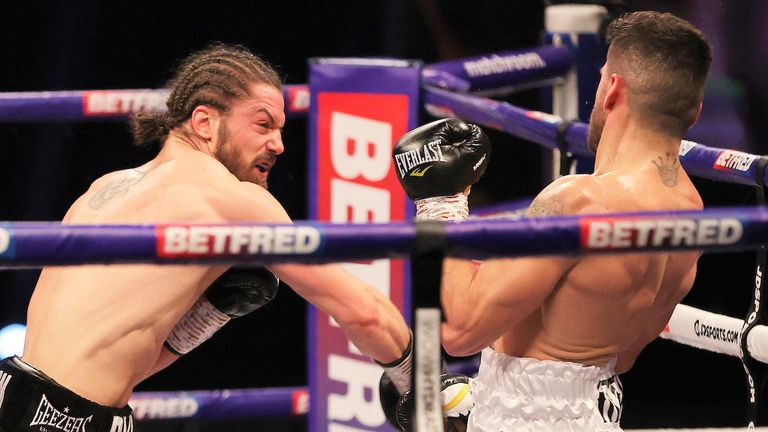 Marku had endured a surprise knockdown in the sixth