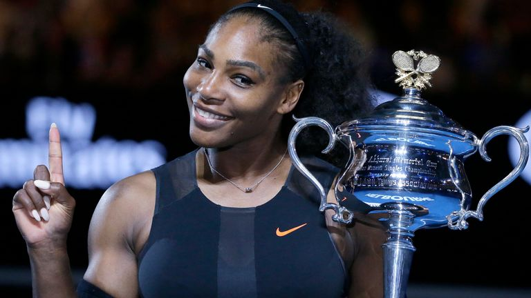 Serena will be aiming to win her first Grand Slam title since 2016