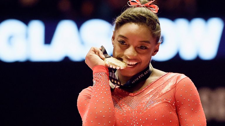 Simone Biles has dominated gymnastics since making her debut as a teenager in 2013