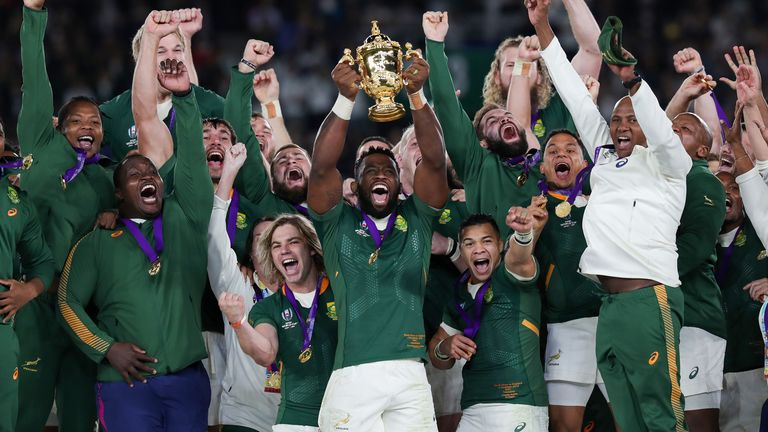 South Africa are the defending champions after beating England in the 2019 final