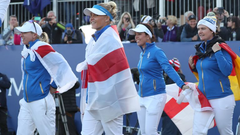 Team Europe's Solheim Cup players will hope to be in action in the LPGA's new Match Play tournament