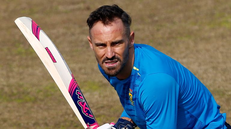Faf du Plessis featured in the South Africa Test squad that lost the recent Pakistan series 2-0