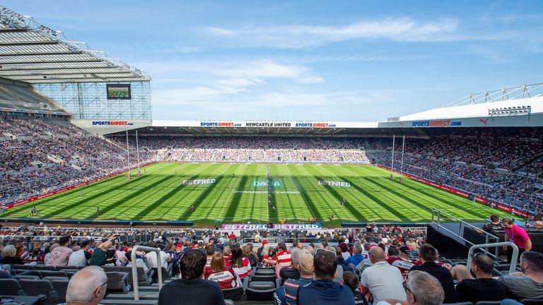 Super League's Magic Weekend returns to Newcastle in 2021