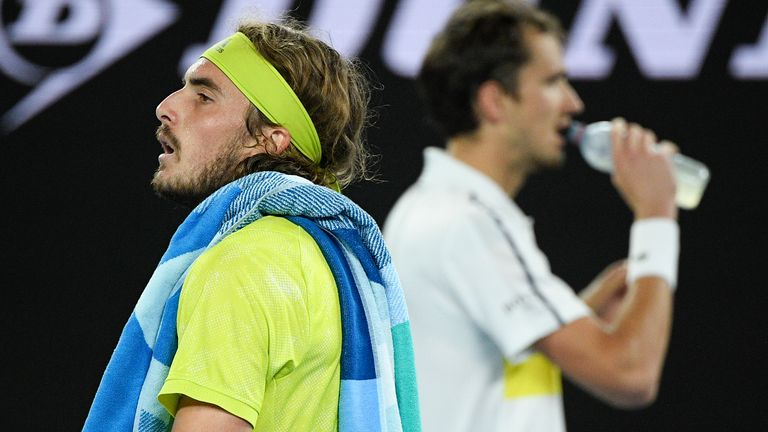 Tsitsipas was blown away by mighty Medvedev in Melbourne