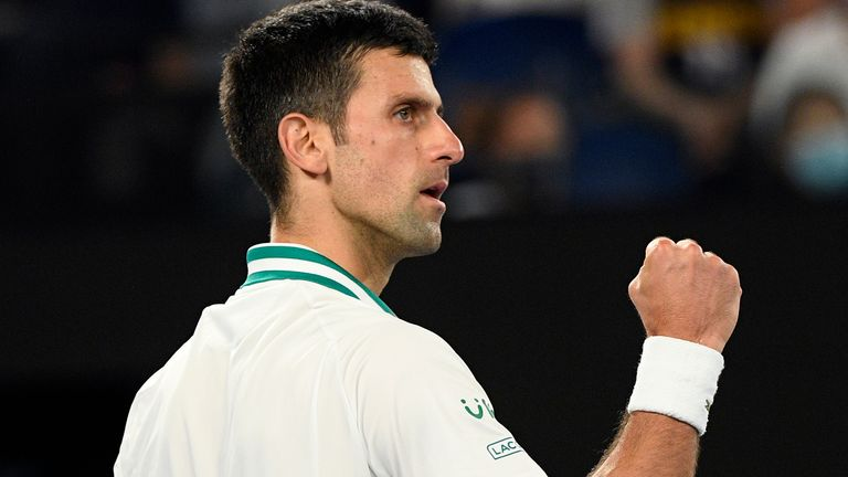 Djokovic crushed Medvedev to continue his domination at Melbourne Park