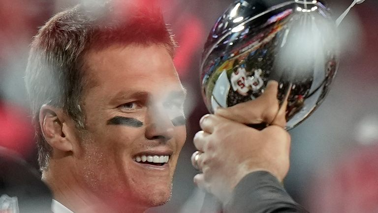Tampa Bay Buccaneers quarterback Tom Brady collected a mind-boggling seventh Super Bowl title