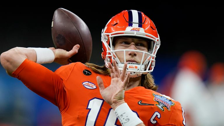 Trevor Lawrence is seen as a lock to be taken with the No 1 overall pick by the Jacksonville Jaguars