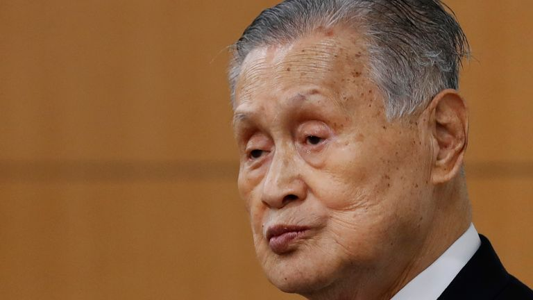Tokyo Olympics chief Yoshiro Mori has apologised for his sexist comments