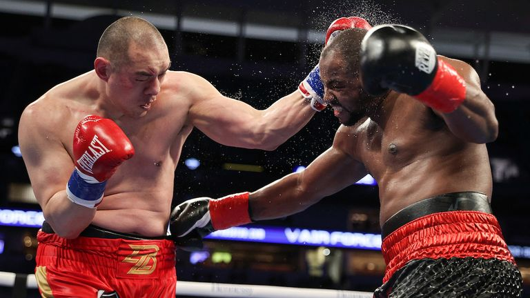 Forrest's bravery got him back into the fight with Zhang