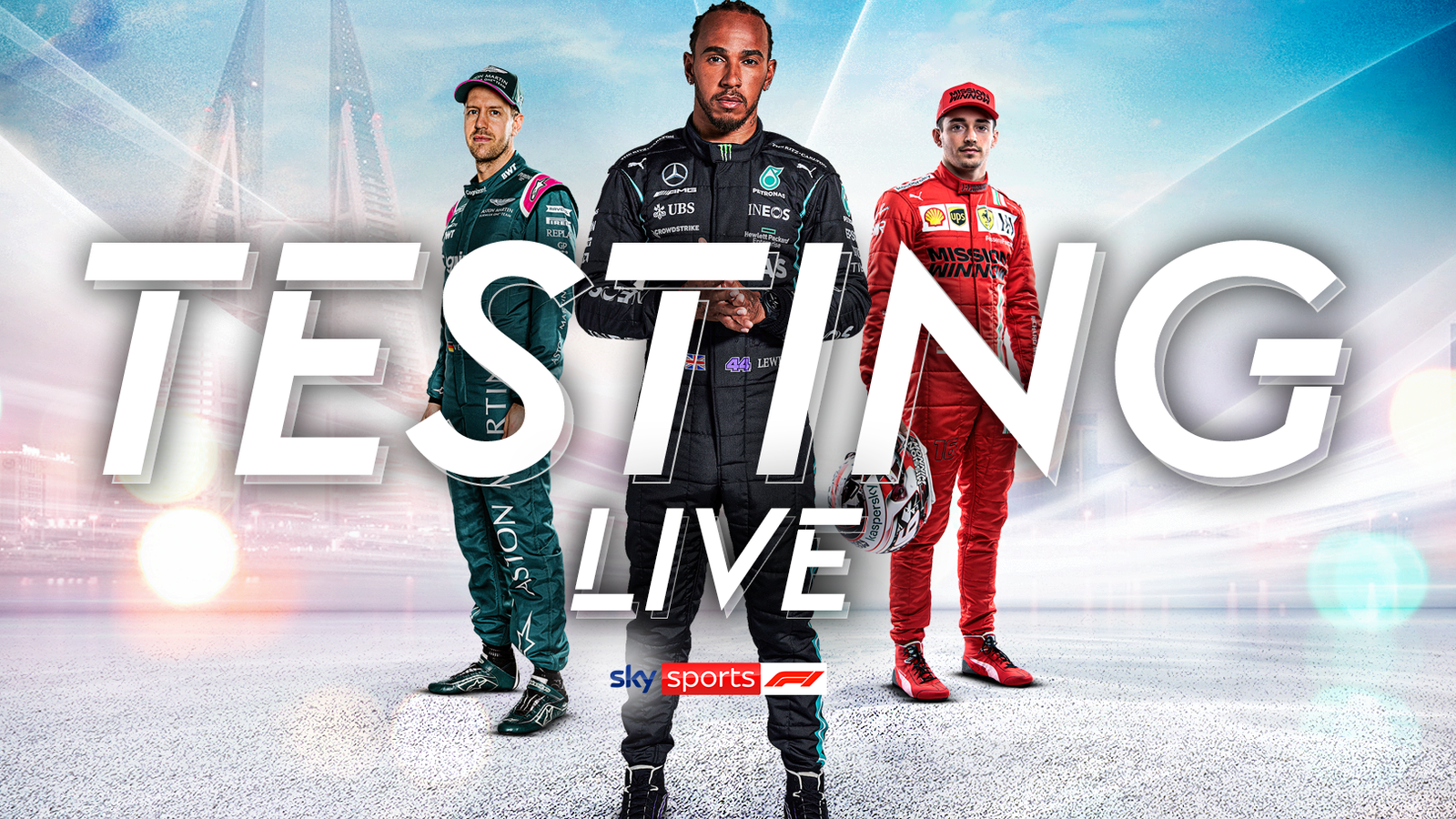 F1 Testing live on Sky Sports F1 with three days of track action in Bahrain as teams and drivers hit the track