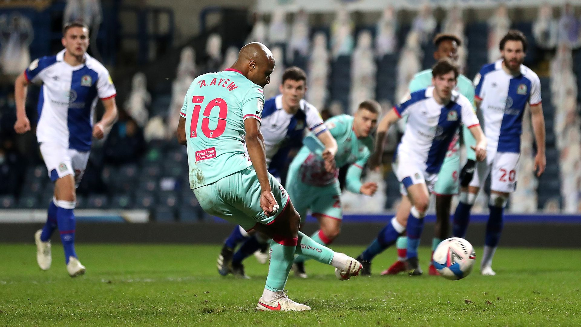 Ayew pen earns point but Swans miss chance to go second
