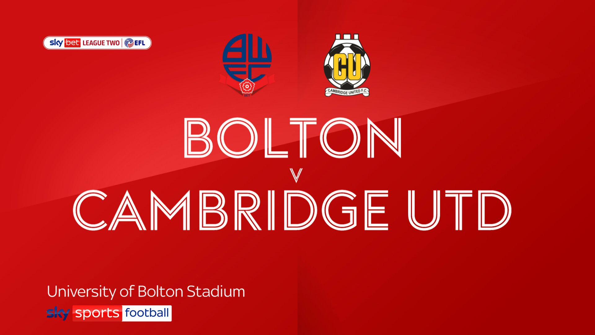 Bolton beat Cambridge as charge continues