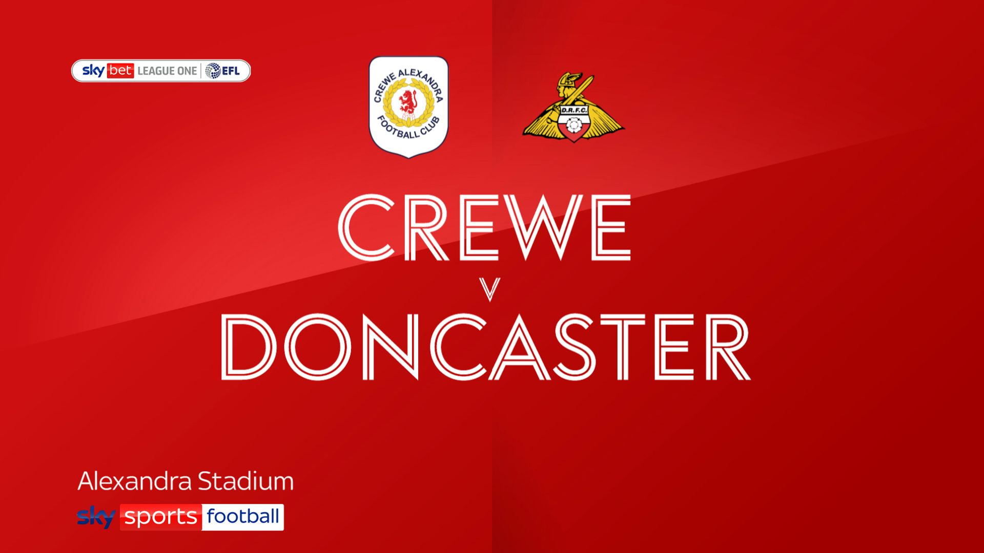 Crewe sneak past Doncaster