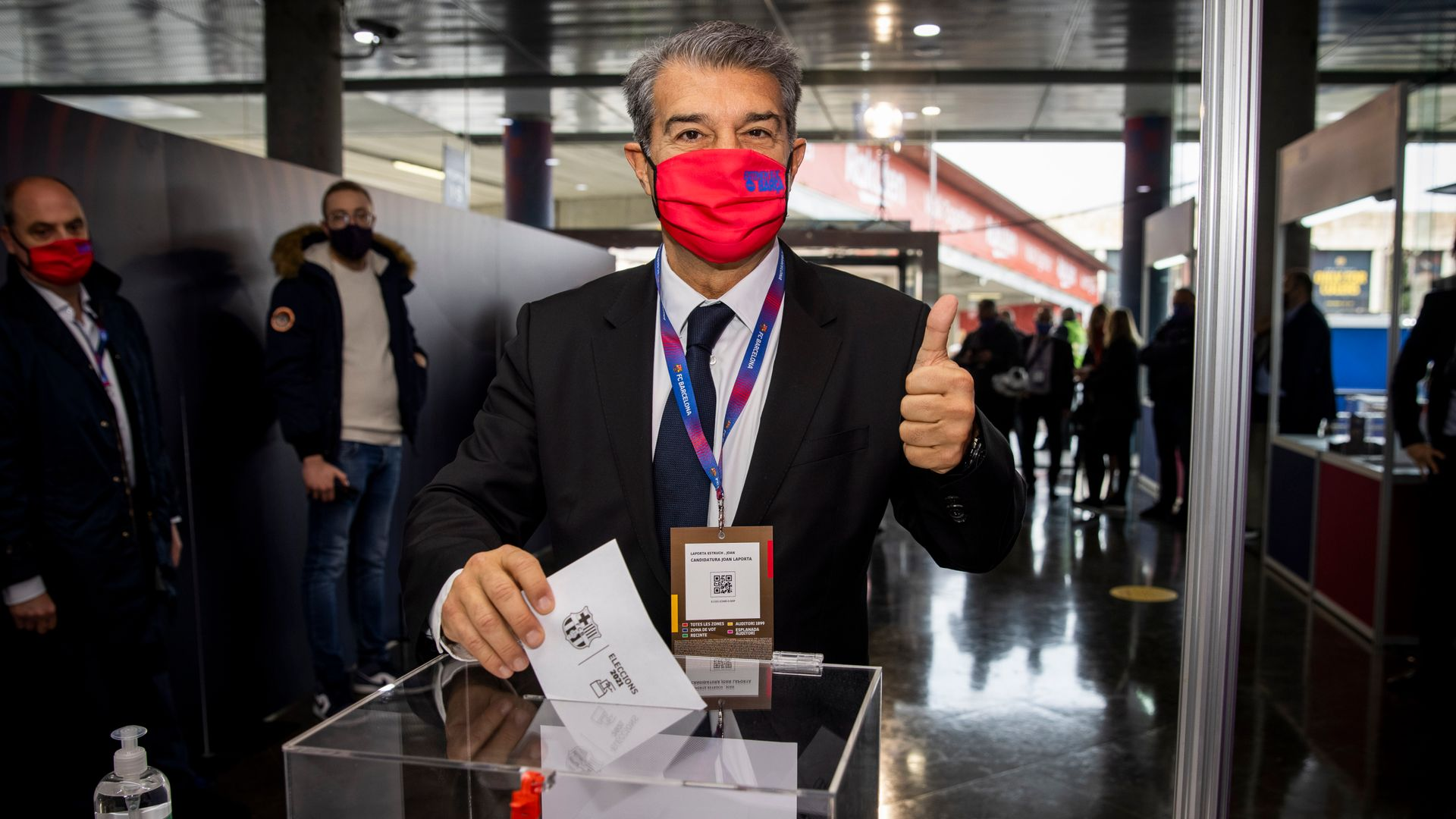 Laporta wins Barcelona presidential election - sky sports