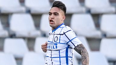 Lautaro Martinez scored the winner five minutes from time to extend Inter Milan's run