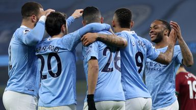 Manchester City recorded their 21st win in a row with victory over Wolves