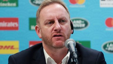 Alan Gilpin said World Rugby was already talking to potential World Cup hosts to ensure long-term hosting certainty